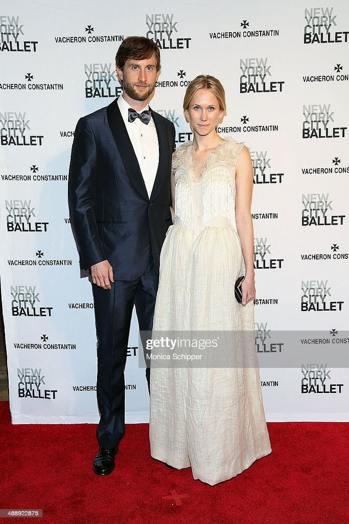 Justin Rockefeller (L) and Indre Rockefeller attends the New York City Ballet 2014 Spring Gala at David H. Koch Theater, Lincoln Center on May 8, 2014 in New York City.