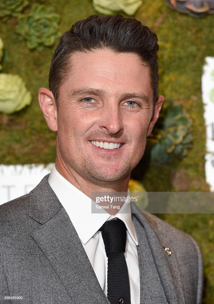 <a gi-track='captionPersonalityLinkClicked' href=/galleries/search?phrase=Justin+Rose&family=editorial&specificpeople=171559 ng-click='$event.stopPropagation()'>Justin Rose</a> arrives for The Horan And Rose event at The Grove on May 29, 2016 in Watford, England.