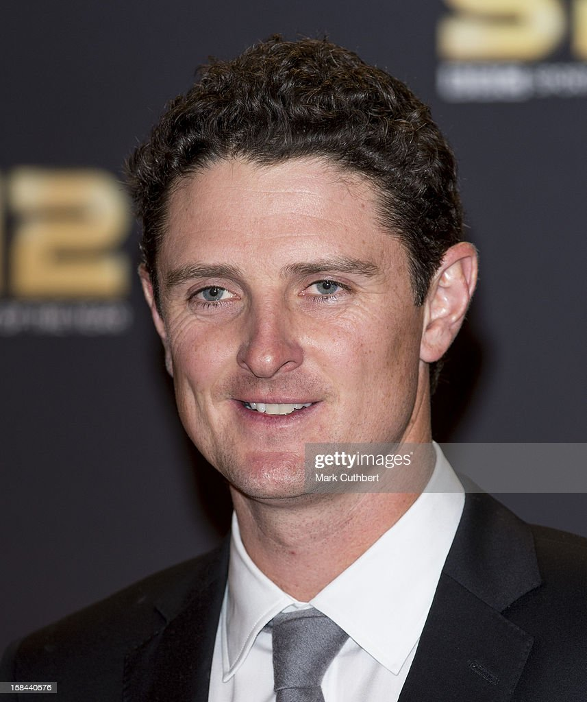 Justin Rose attends the BBC Sports Personality Of The Year Awards at ExCel on December 16, 2012 in London, England.