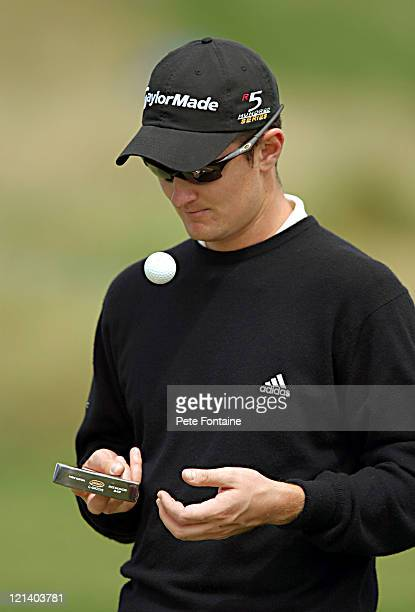 Justin Rose during ProAm day of the Smurfit European Open May 30 2004