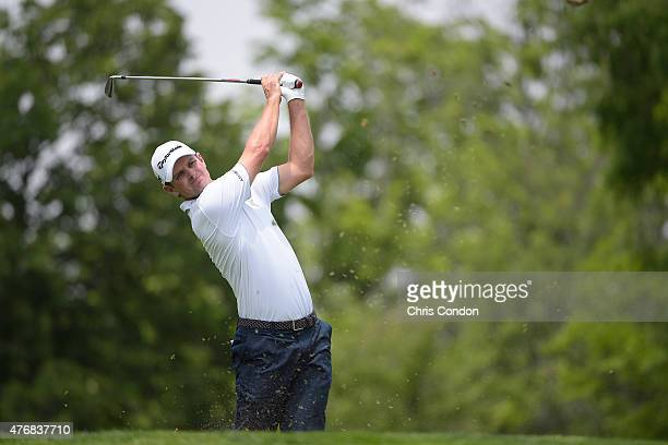 during the final round of the Memorial Tournament presented by Nationwide at Muirfield Village Golf Club on June 7 2015 in Dublin Ohio DUBLIN OH JUNE...