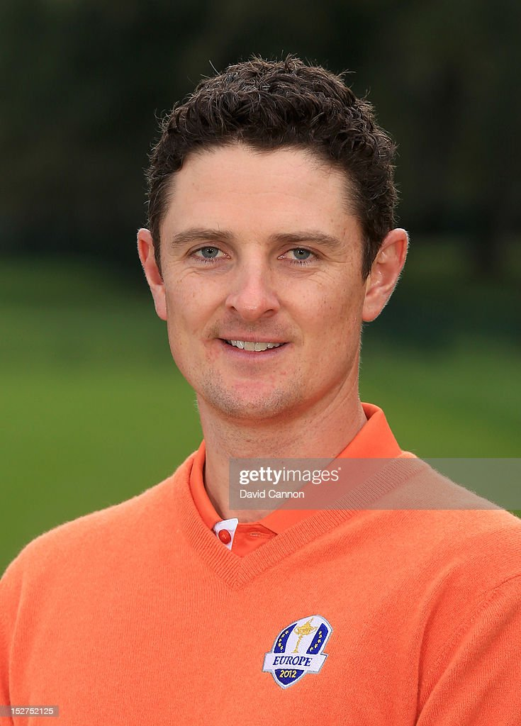 Justin Rose of Europe poses for an official photograph during the second preview day of The ... Show more - justin-rose-of-europe-poses-for-an-official-photograph-during-the-picture-id152752125