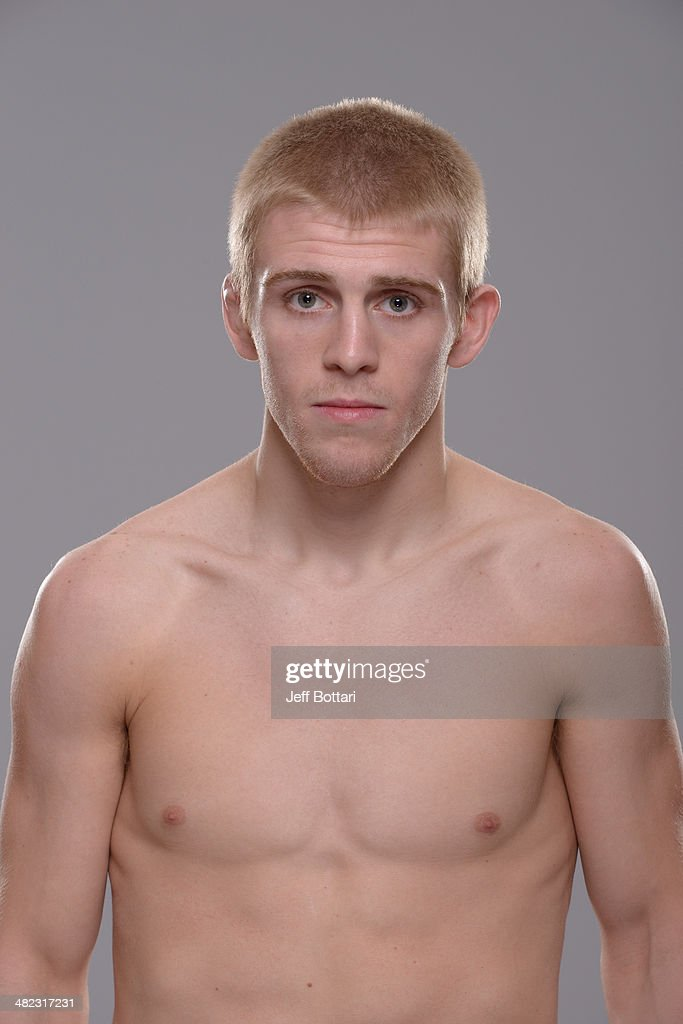 Justin Scoggins poses for a portrait during a UFC photo session on March 12 2014 in Dallas Texas