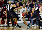 Justin Sears of the Yale Bulldogs during a game against the Harvard Crimson at the Palestra on the campus of the University of Pennsylvania on March...