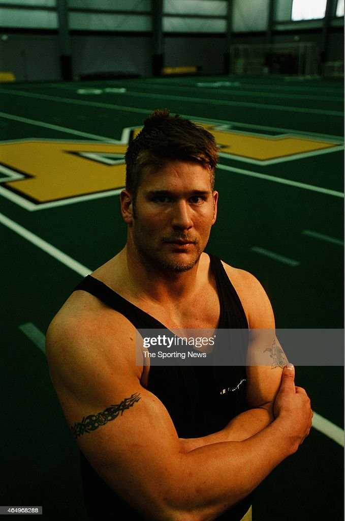 Justin Smith of the Missouri Tigers poses for a photo on March 14, 2001.