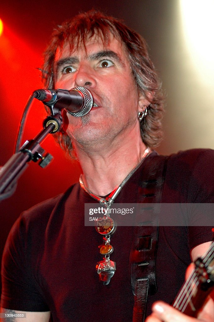 <a gi-track='captionPersonalityLinkClicked' href=/galleries/search?phrase=Justin+Sullivan&family=editorial&specificpeople=4756014 ng-click='$event.stopPropagation()'>Justin Sullivan</a> of New Model Army during New Model Army in Concert at The Astoria in London - October 15, 2005 at London Astoria in London, Great Britain.