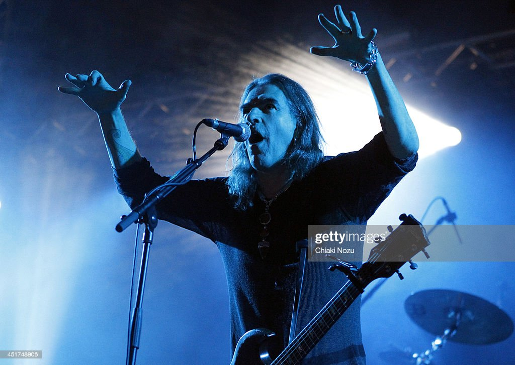 Justin Sullivan of New Model Army performs at Day 2 of the Sonisphere Festival at Knebworth Park on July 5 2014 in Knebworth England