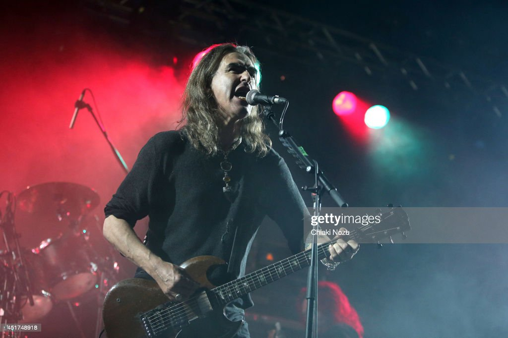 <a gi-track='captionPersonalityLinkClicked' href=/galleries/search?phrase=Justin+Sullivan&family=editorial&specificpeople=4756014 ng-click='$event.stopPropagation()'>Justin Sullivan</a> of New Model Army performs at Day 2 of the Sonisphere Festival at Knebworth Park on July 5, 2014 in Knebworth, England.