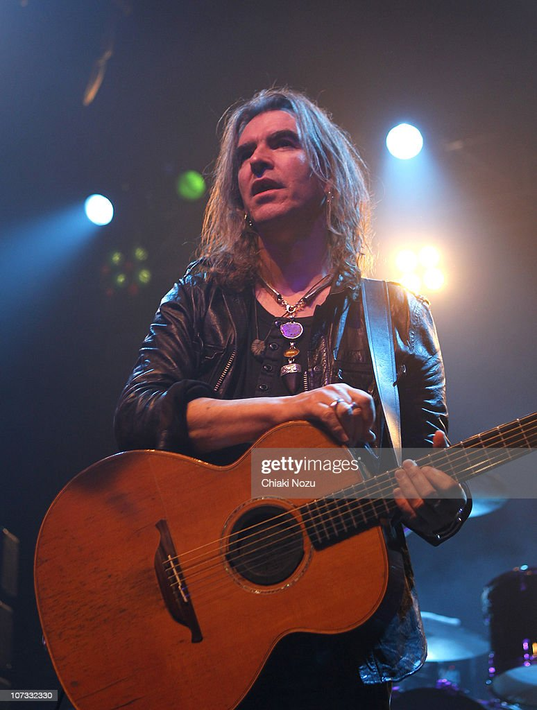 Justin Sullivan of New Model Army performs at The Forum on December 4 2010 in London England