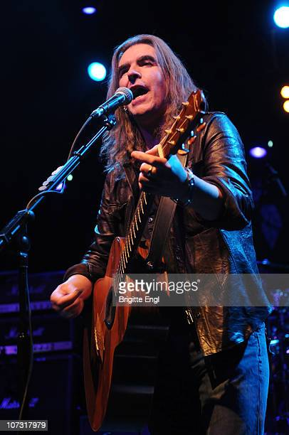 Justin Sullivan of New Model Army performs on stage at HMV Forum on December 3 2010 in London England
