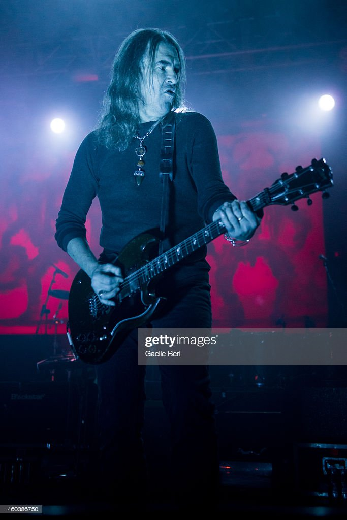 <a gi-track='captionPersonalityLinkClicked' href=/galleries/search?phrase=Justin+Sullivan&family=editorial&specificpeople=4756014 ng-click='$event.stopPropagation()'>Justin Sullivan</a> of New Model Army performs on stage at The Forum on December 12, 2014 in London, United Kingdom