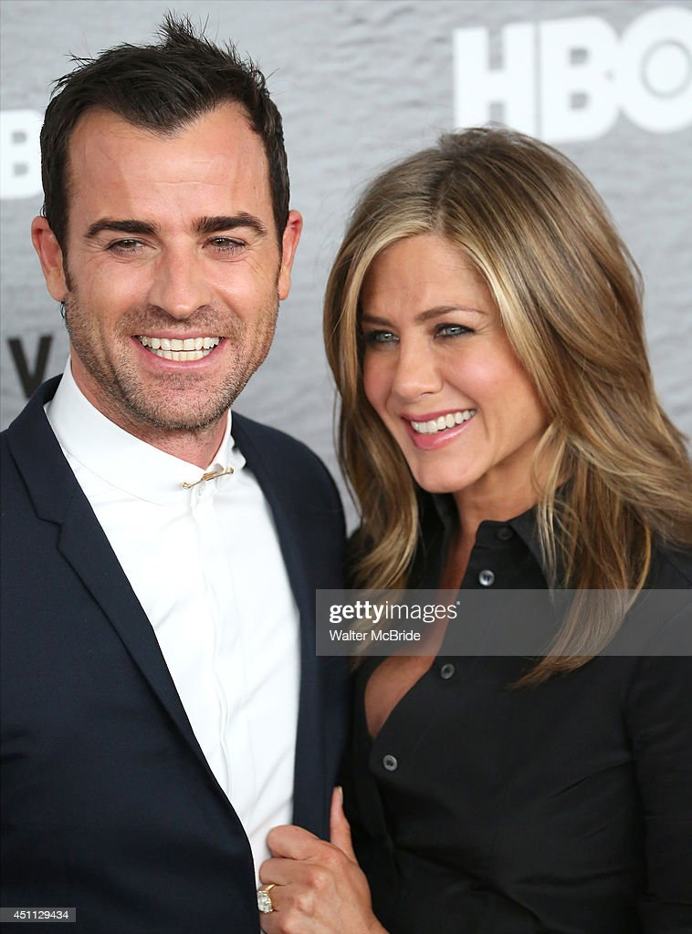 <a gi-track='captionPersonalityLinkClicked' href=/galleries/search?phrase=Justin+Theroux&family=editorial&specificpeople=240634 ng-click='$event.stopPropagation()'>Justin Theroux</a> and <a gi-track='captionPersonalityLinkClicked' href=/galleries/search?phrase=Jennifer+Aniston&family=editorial&specificpeople=202048 ng-click='$event.stopPropagation()'>Jennifer Aniston</a> attend 'The Leftovers' premiere at NYU Skirball Center on June 23, 2014 in New York City.