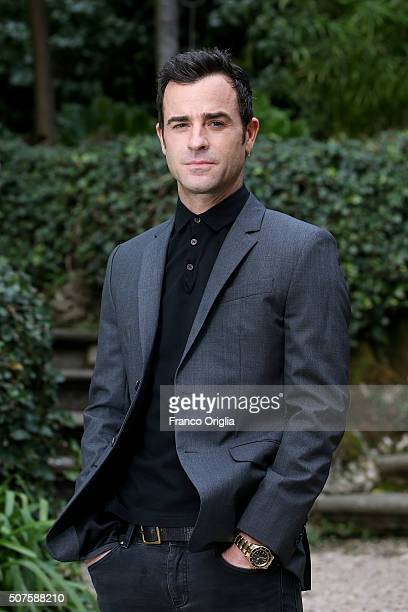 Justin Theroux attends a photocall for 'Zoolander No 2' on January 30 2016 in Rome Italy