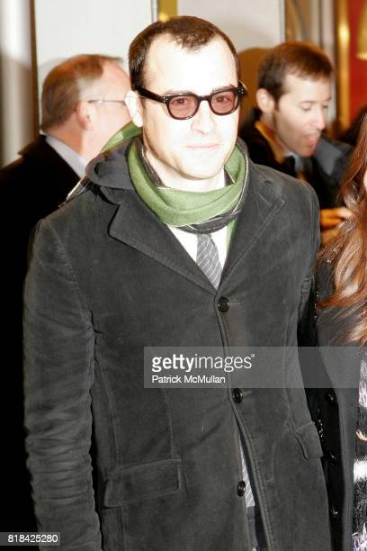 Justin Theroux attends Opening Night of Present Laughter at American Airlines Theater on January 21 2010 in New York City