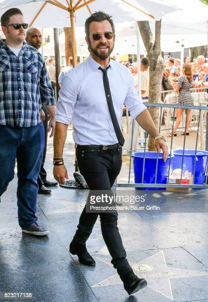 Justin Theroux is seen on July 26 2017 in Los Angeles California