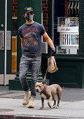 Celebrity Sightings In New York City - September 13,...