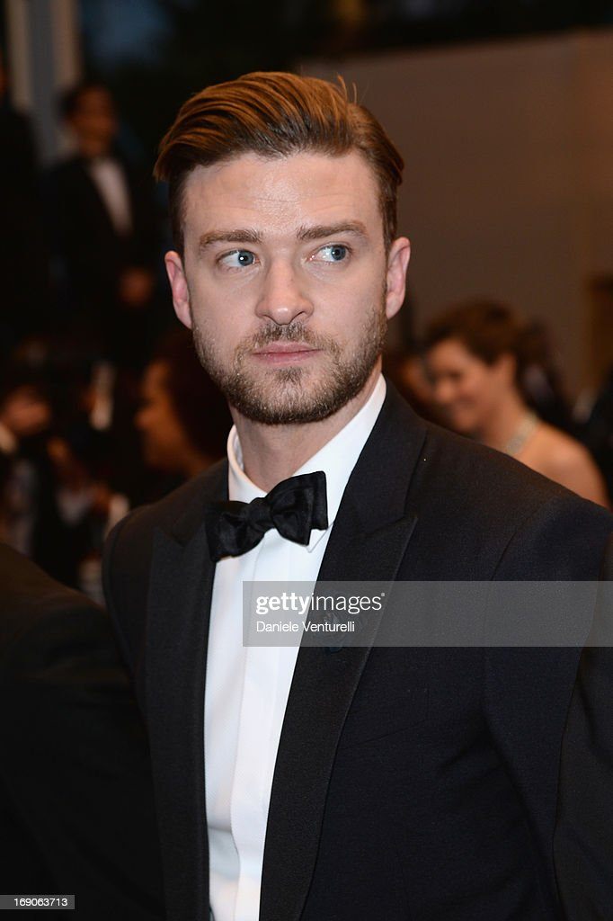 Justin Timberlake after the Premiere of 'Inside Llewyn Davis' during the 66th Annual Cannes Film Festival at Palais des Festivals on May 19, 2013 in Cannes, France.