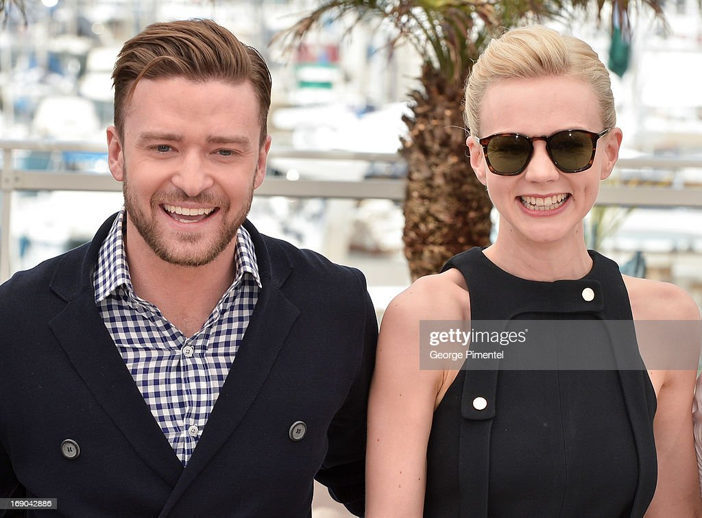 <a gi-track='captionPersonalityLinkClicked' href=/galleries/search?phrase=Justin+Timberlake&family=editorial&specificpeople=157482 ng-click='$event.stopPropagation()'>Justin Timberlake</a> and <a gi-track='captionPersonalityLinkClicked' href=/galleries/search?phrase=Carey+Mulligan&family=editorial&specificpeople=2262681 ng-click='$event.stopPropagation()'>Carey Mulligan</a> attends the photocall for 'Inside Llewyn Davis' at The 66th Annual Cannes Film Festival on May 19, 2013 in Cannes, France.