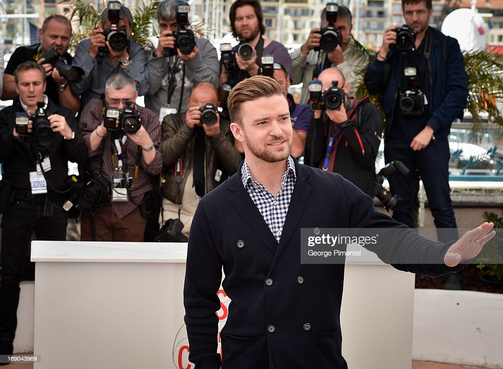 <a gi-track='captionPersonalityLinkClicked' href=/galleries/search?phrase=Justin+Timberlake&family=editorial&specificpeople=157482 ng-click='$event.stopPropagation()'>Justin Timberlake</a> and Carey Mulligan attends the photocall for 'Inside Llewyn Davis' at The 66th Annual Cannes Film Festival on May 19, 2013 in Cannes, France.