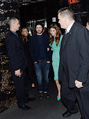 Justin Timberlake and Jessica Biel attend the Film District and Chrysler with The Cinema Society premiere of 'Playing For Keeps' after party at Dream...