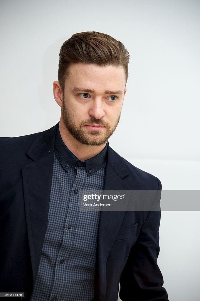 Justin Timberlake at the 'Inside Llewyn Davis' Press Conference at the Four Seasons Hotel on November 25 2013 in Beverly Hills California