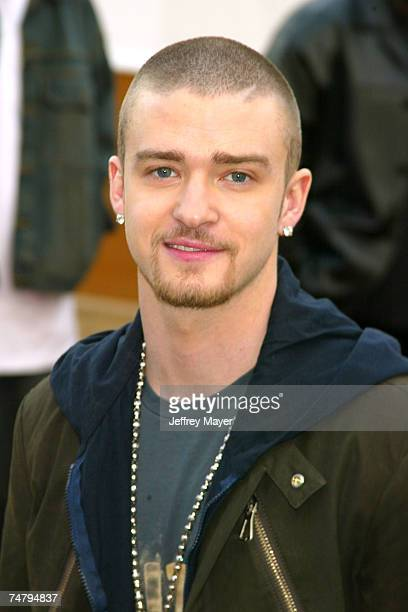 Justin Timberlake at the Pasadena Civic Auditorium in Pasadena California