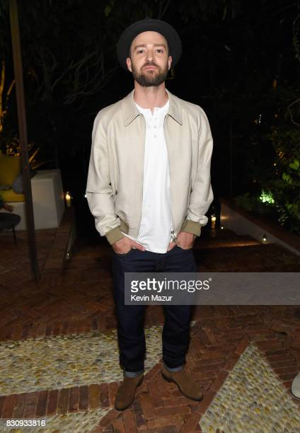 Justin Timberlake attends Apollo in the Hamptons 2017 hosted by Ronald O Perelman at The Creeks on August 12 2017 in East Hampton New York