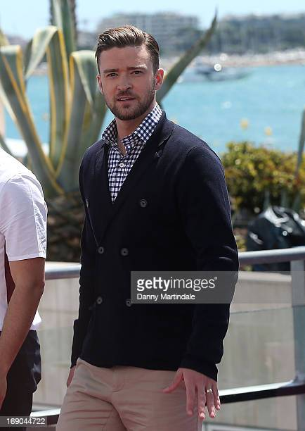 Justin Timberlake attends day 5 of the 66th Annual Cannes Film Festival on May 19 2013 in Cannes France