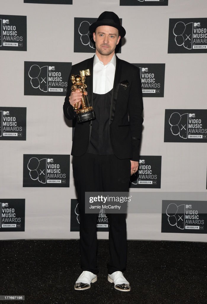 Justin Timberlake attends the 2013 MTV Video Music Awards at the Barclays Center on August 25, 2013 in the Brooklyn borough of New York City.