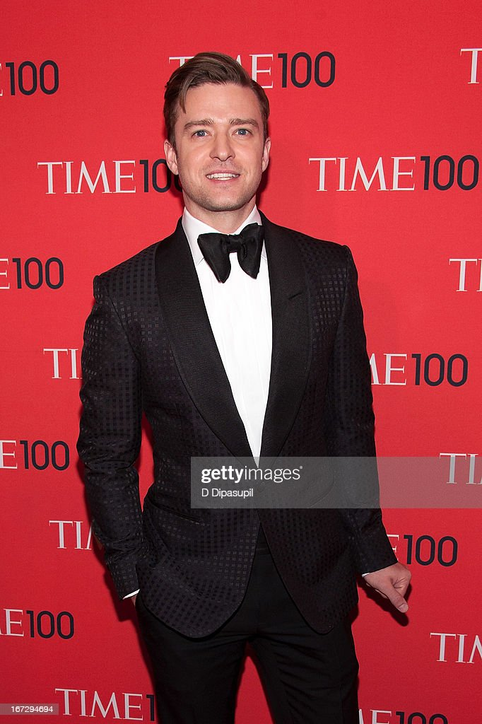 Justin Timberlake attends the 2013 Time 100 Gala at Frederick P. Rose Hall, Jazz at Lincoln Center on April 23, 2013 in New York City.