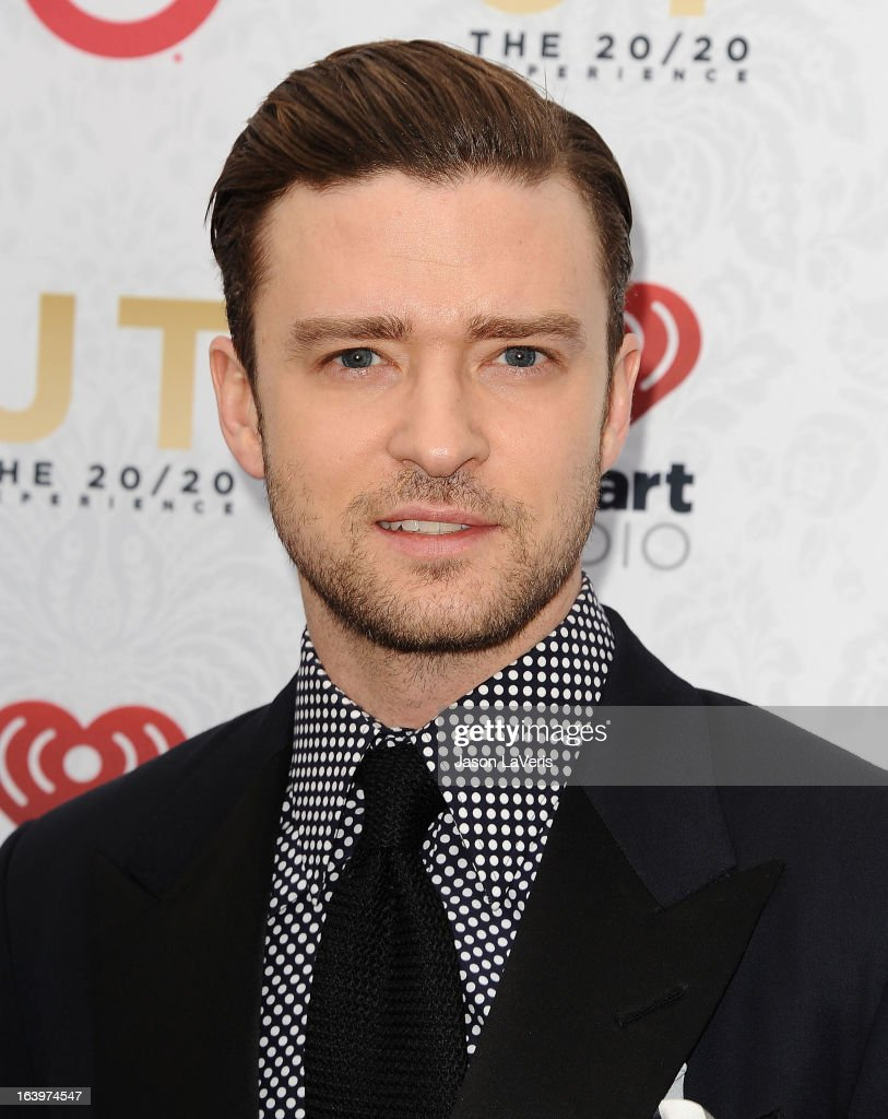 <a gi-track='captionPersonalityLinkClicked' href=/galleries/search?phrase=Justin+Timberlake&family=editorial&specificpeople=157482 ng-click='$event.stopPropagation()'>Justin Timberlake</a> attends the '20/20' album release party at El Rey Theatre on March 18, 2013 in Los Angeles, California.
