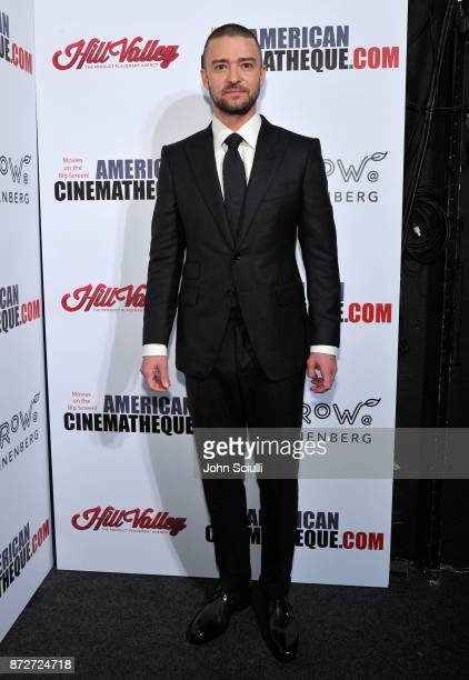 Justin Timberlake attends the 31st American Cinematheque Award Presentation Honoring Amy Adams Presented by GRoW @ Annenberg Presentation of The 3rd...