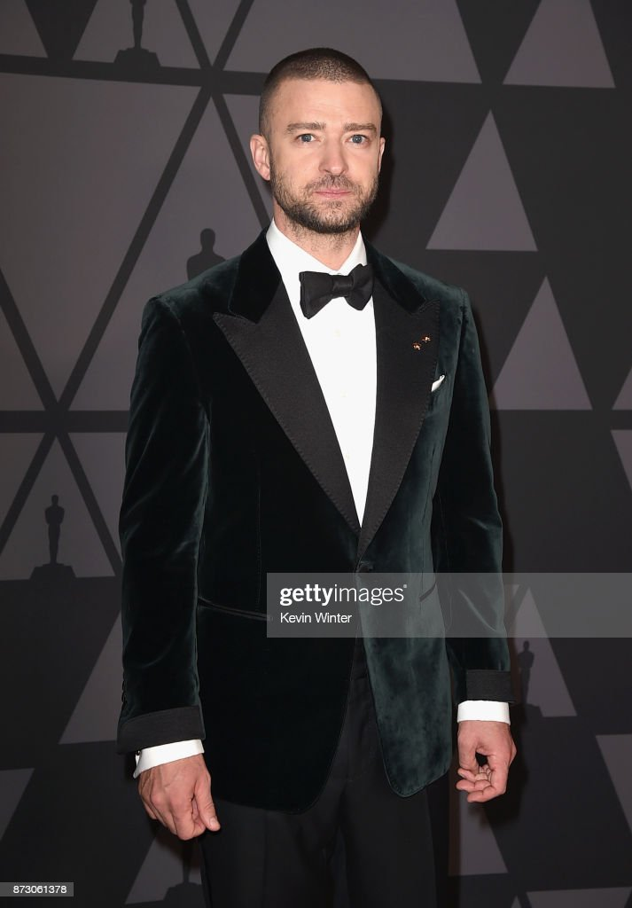 Justin Timberlake attends the Academy of Motion Picture Arts and Sciences' 9th Annual Governors Awards at The Ray Dolby Ballroom at Hollywood & Highland Center on November 11, 2017 in Hollywood, California.