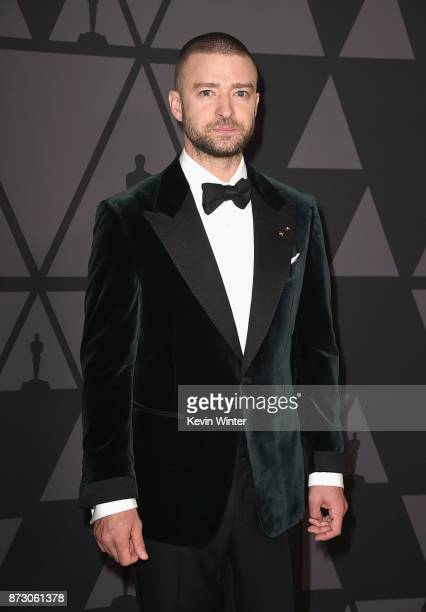 Justin Timberlake attends the Academy of Motion Picture Arts and Sciences' 9th Annual Governors Awards at The Ray Dolby Ballroom at Hollywood...