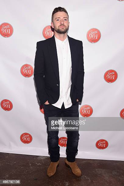 Justin Timberlake attends the CMA After Party at Citizen hosted by Justin Timberlake and Sauza 901 Tequila on November 4 2015 in Nashville Tennessee