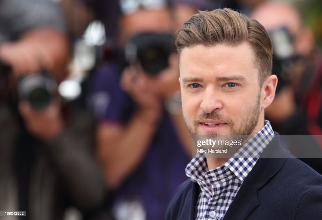 Justin Timberlake attends the photocall for 'Inside Llewyn Davis' at The 66th Annual Cannes Film Festival on May 19, 2013 in Cannes, France.