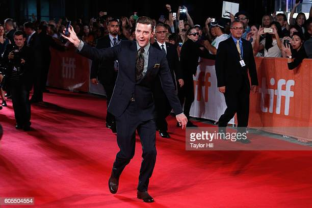 Justin Timberlake attends the premiere of 'Justin TimberlakeThe Tennessee Kids' during the 2016 Toronto International Film Festival at Roy Thomson...