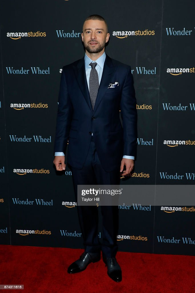 Justin Timberlake attends the premiere of 'Wonder Wheel' at Museum of Modern Art on November 14, 2017 in New York City.