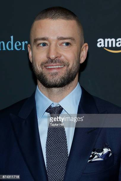 Justin Timberlake attends the premiere of 'Wonder Wheel' at Museum of Modern Art on November 14 2017 in New York City
