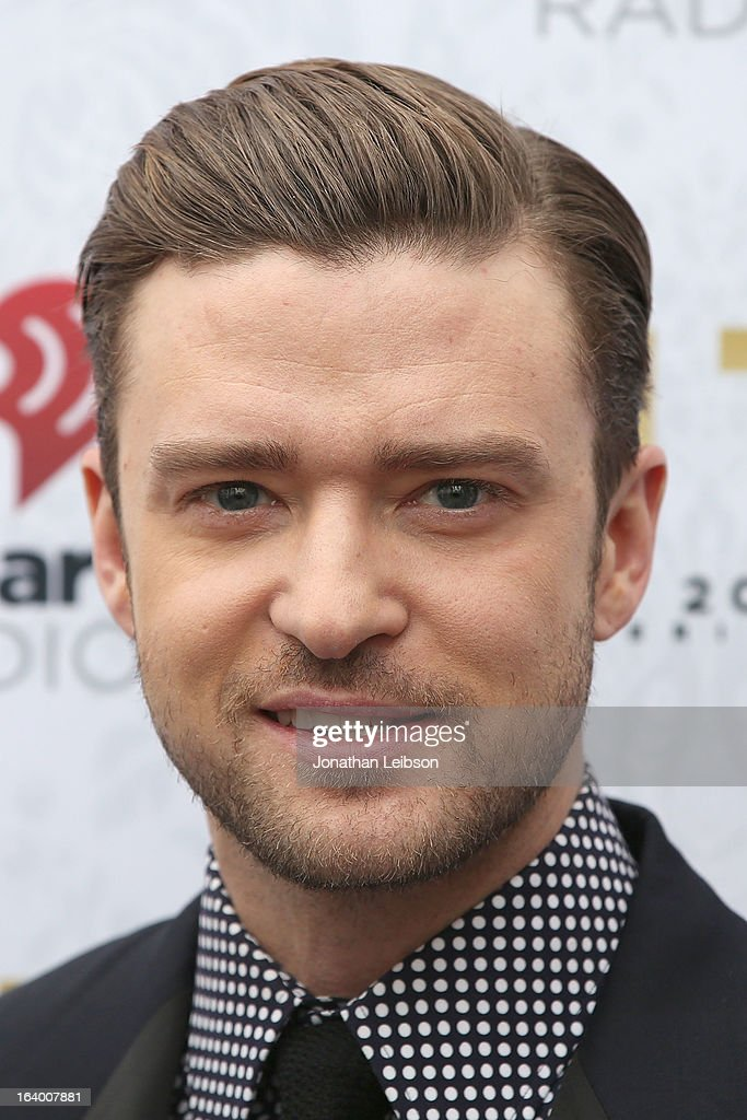 <a gi-track='captionPersonalityLinkClicked' href=/galleries/search?phrase=Justin+Timberlake&family=editorial&specificpeople=157482 ng-click='$event.stopPropagation()'>Justin Timberlake</a> attends the Target Presents The iHeartRadio '20/20' Album Release Party With <a gi-track='captionPersonalityLinkClicked' href=/galleries/search?phrase=Justin+Timberlake&family=editorial&specificpeople=157482 ng-click='$event.stopPropagation()'>Justin Timberlake</a> at El Rey Theatre on March 18, 2013 in Los Angeles, California.