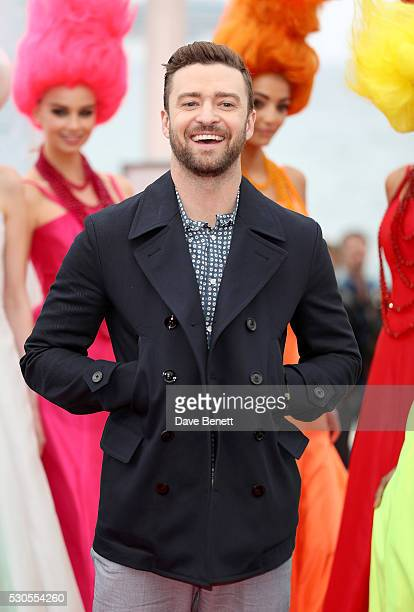 Justin Timberlake attends the 'Trolls' Photocall during The 69th Annual Cannes Film Festival on May 11 2016 in Cannes France