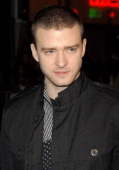 Justin Timberlake during 'Alpha Dog' Los Angeles Premiere Arrivals at ArcLight Cinemas in Hollywood California United States