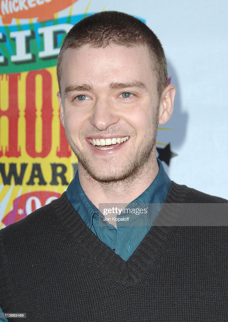 Justin Timberlake during Nickelodeon's 19th Annual Kids' Choice Awards - Arrivals at Pauley Pavillion in West wood, California, United States.