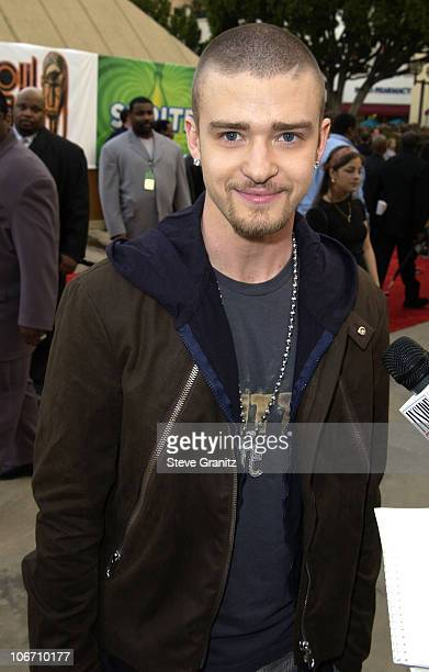 Justin Timberlake during The 17th Annual Soul Train Music Awards Arrivals at Pasadena Civic Auditorium in Pasadena California United States