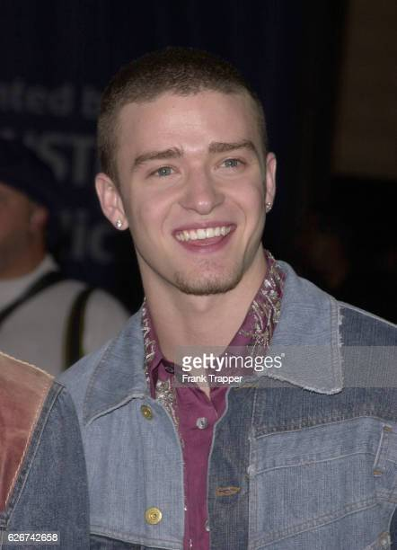 Justin Timberlake from the group N'Sync at the 7th Annual Blockbuster Entertainment Awards