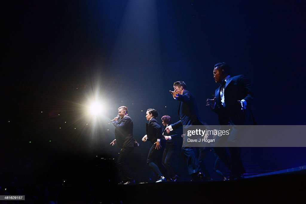 <a gi-track='captionPersonalityLinkClicked' href=/galleries/search?phrase=Justin+Timberlake&family=editorial&specificpeople=157482 ng-click='$event.stopPropagation()'>Justin Timberlake</a> performs on the opening night of his UK tour at Motorpoint Arena on March 30, 2014 in Sheffield, England.
