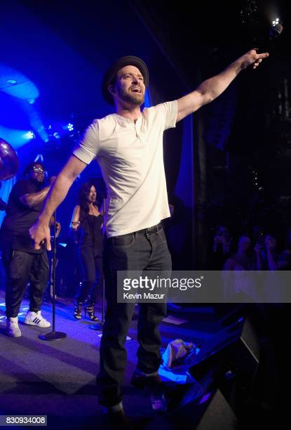 Justin Timberlake performs onstage at Apollo in the Hamptons 2017 hosted by Ronald O Perelman at The Creeks on August 12 2017 in East Hampton New York