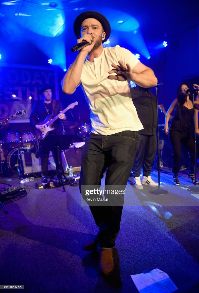 Justin Timberlake performs onstage at Apollo in the Hamptons 2017: hosted by Ronald O. Perelman at The Creeks on August 12, 2017 in East Hampton, New York.