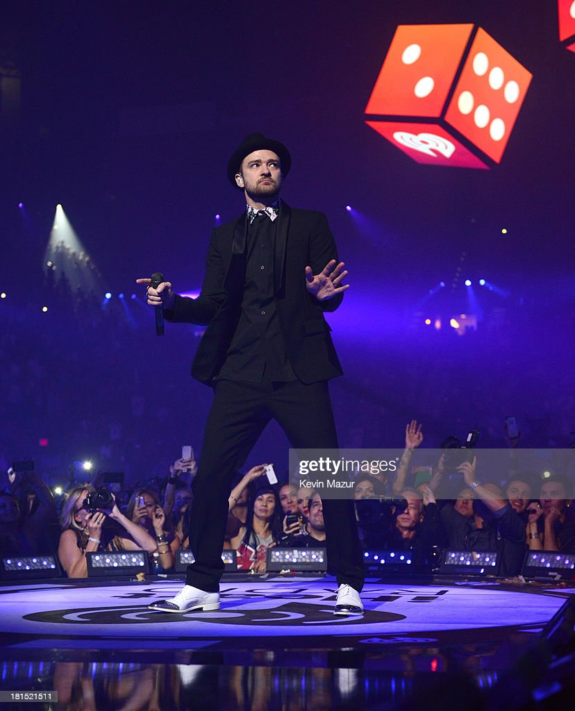 <a gi-track='captionPersonalityLinkClicked' href=/galleries/search?phrase=Justin+Timberlake&family=editorial&specificpeople=157482 ng-click='$event.stopPropagation()'>Justin Timberlake</a> performs onstage during the iHeartRadio Music Festival at the MGM Grand Garden Arena on September 21, 2013 in Las Vegas, Nevada.