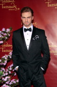 Justin Timberlake wax figure is unveiled at Madame Tussauds on April 2 2014 in Berlin Germany